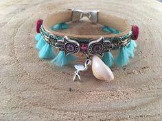 Handmade bracelet in boho style