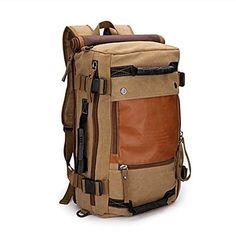 Cientos de ofertas con descuento y envío Gratis >>> Ibagbar Canvas Backpack Travel Bag Hiking Bag Camping… Visita nuestra Ebay stores >>>