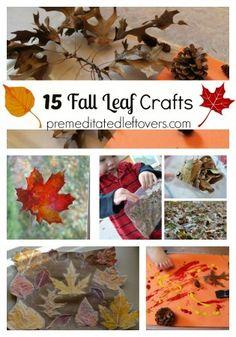 15 Fall Leaf Crafts for Children