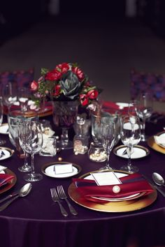 Purple and Fuchsia. #yyceventrentals #weddingrentals #weddingdecor #eventdecor www.greateventsrentals.com