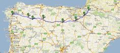 One Month on the Road - Camino de Santiago de Compostela. I can not wait to do this.