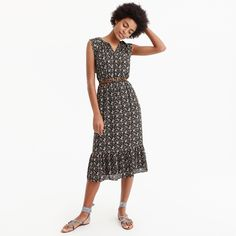 21f61fc1ff Women s Leopard Print Long Sleeve One Shoulder Midi Dress - Who What Wear™  Black Yellow   Target