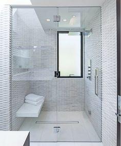 Cabine de douche intégrale et très design