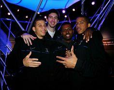 Seth Curry, Ryan Kelly, Tyler Thornton and Andre Dawkins