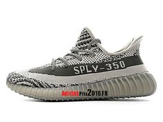 separation shoes a8e09 db3b4 Adidas Yeezy 350 V2 Boost GS Gris BA1829 Chaussures Adidas Sportswear Prix  Pour Femme Enfant