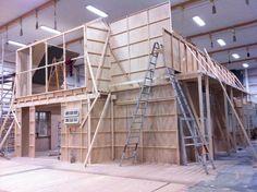 Light Cinema, Set Design, Carpentry, Cinematography, Theatre, Yard, Interiors, Movie, Sunset
