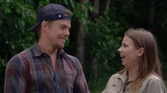 """Derek Hough got a cuddly surprise from his Dancing With the Stars partner Bindi Irwin on their victory trip to Australia.  After the pair took home the mirror ball trophy as the champs of DWTS' 21st season, Derek headed down under for some rest and relaxation.  """"This is your namesake!"""" Bindi, 17, said"""