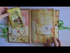 Jane Austen themed swap journal from Tuire - YouTube