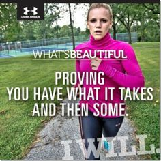 under armour women what's beautiful | ... about the What's Beautiful campaign from the Under Armour Website