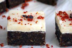 Peppermint Brownies [Vegan, Raw, Gluten-Free]