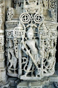 Marble carvings Jain temple Ranakpur (photo R Schuster)