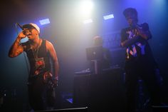 Ninjasonik performs at the Artist On The Verge Finals 2012 at Santos Party House in New York City, June 18, 2012.
