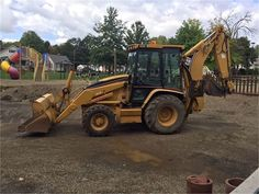 This 2003 CAT 420D (9523640) is now up for bid on Municibid.com. Go check it out! #OnlineAuction #Auction #Auctions #ForSale #2003 #CAT #Tractor #420D #HeavyEquipment