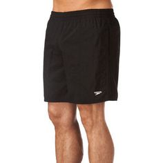 Mens #speedo solid leisure #swimming shorts  black  #brand new as from #speedo.,  View more on the LINK: 	http://www.zeppy.io/product/gb/2/261452715974/