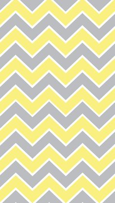 Yellow and grey chevron