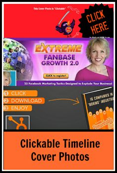 How to Drive Traffic with a Clickable Facebook Timeline Cover Photo www.sociallysorted.com.au