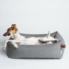 Panier pour chien tweed gris Sleepy Deluxe - Hariet et Rosie Cloud 7