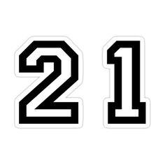 Alphabet Stencils, Twenty One, Flasks, The Twenties, Vinyl Decals, Laptops, Kiss, Banner, Stickers