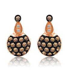 Le Vian® Chocolate Diamonds Gold Dangle Earrings   Boscov's