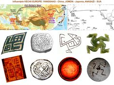 Marea migraţie: Cucuteni-Tripolie, Yangshao, Ban-Chiang, Jomon, Valdivia, Anasazi-Mogollon Old Pottery, Europe, China, Personalized Items, Porcelain