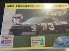 Plastic Model Kit NASCAR Dale Earnhardt #3 GM Goodwrench Chevrolet Lumina Skill2 #Monogram