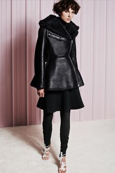 How to Rock the Skirt-Over-Pants Fashion Trend in Fall 2014 ...