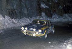 Roberto Cambiaghi, Fiat 124 Abarth Spider, 1976 Rallye Monte Carlo