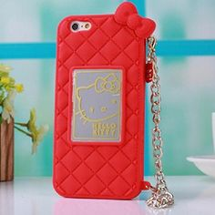 """TFS iPhone 6 Plus Case ,iPhone 6 Plus 5.5"""" protector Cover,Stylish Slim Cut Cat Handbag Soft Silicone case cover for Apple iphone 6 Plus 5.5inch (Rose)"""