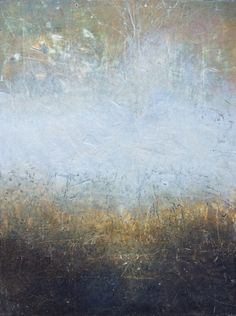 Dorte Boe - Oil & cold wax - 30x40 cm. Exquisite work!                                                                                                                                                                                 More