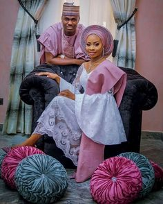 @tisumto & @solaolofin Agbada by @biodun_taylor bride's fabric by @deroyalfabrics @laphyphotography #soltee2016 #sugarweddings