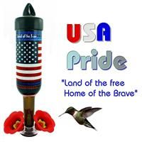 USA Pride Double Shot from Hummingbird Vineyard and Tipsy Birds - 375ml Freestyle Feeders