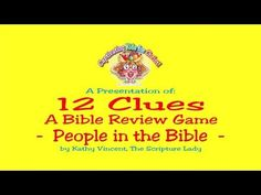 """In my workshop titles Ways to Make Sunday School the Best Hour of the Week,"""" I introduce creative ways to memorize Bible verses. """"Pass the Bible"""" is one o. Bible Verse Memorization, Bible Verses, Memory Verse Games, Christian Classroom, Sunday School Games, Bible Activities For Kids, Bible Object Lessons, Love Me Do, Review Games"""