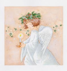 Annabel Spenceley - _angel With Ivy