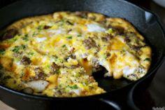 New Beginnings: Easy Cheesey Breakfast Fritatta