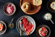 A Better Bagel Topping: Beet-Cured Salmon on Food52