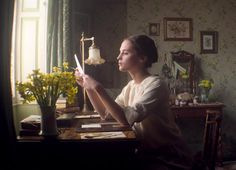 Alicia Vikander as Vera Brittain ,Testament of Youth Alicia Vikander, Courage Dear Heart, Haha, Character Aesthetic, Period Dramas, Story Inspiration, Belle Photo, Retro, Nostalgia