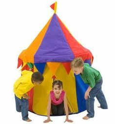 Circus Play Tent by Bazoongi by Bazoongi. $119.99  sc 1 st  Pinterest & Play Tent Caro-Lini from Haba $134 | for the girls | Pinterest ...