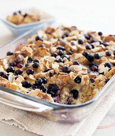 Blueberry-Almond French Toast Bake #bodybypousti #drpousti #plasticsurgery #pps #healthy #eatingright