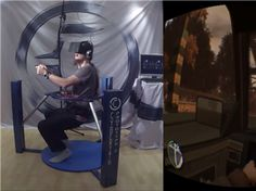 Virtual Reality Researchers Takes 'Grand Theft Auto' To The Next Level (+VIDEO) This look like a TIME MACHINE : )