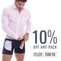 Keep your shirt tucked in with Tucked Trunks! www.tuckedtrunks.com