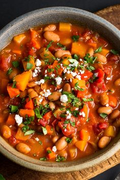 Vegetarian Chili wit