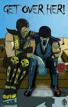 Gamer Valentines - Mortal Kombat