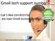 Acquire one call Resolution via Gmail Tech Support Number 1-866-224-8319  #GmailTechnicalSupport #GmailTechsupportNumber #GmailTechnicalSupportNumber #GmailPhoneNumber Right away no persuading inspiration to stress for your Gmail account. With a target to help as different customers as could be normal in light of the current situation, Monk-tech nerds come up with a considerable measure of relationship to request that the customers incline toward a decision as indicated by their necessities…