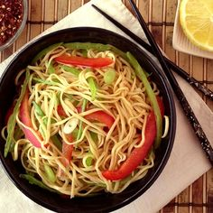 Very easy and very tasty noodle recipe - PIN