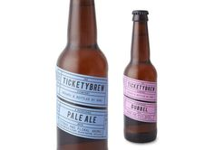 The TicketyBrew Beer Takes Cues from the Stage #drinking trendhunter.com
