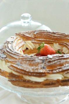Paris-Brest aux fraises