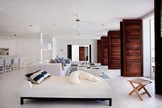 comfy living room - caribbean sea