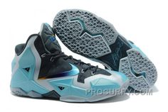 cheap for discount 9d564 890ca Nike LeBron 11 Armory Slate Gamma Blue-Light Armory Blue For Sale New