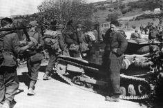 Ce CV33 est vu ici dans les Balkans en 1943.