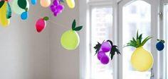 bola de encher de frutas